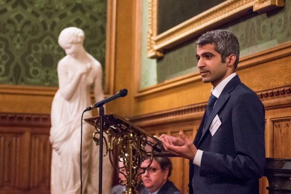 Deven Ghelani, Policy in Practice, spoke about using government data at the House of Lords recently