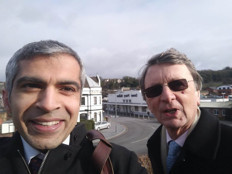 Deven Ghelani and Lord Kirkwood visited Dover JCP to see how Universal Credit is operating on the frontline. They work with staff to help claimants.