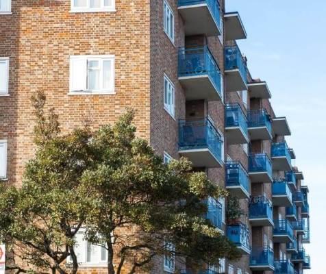 London housing apartments