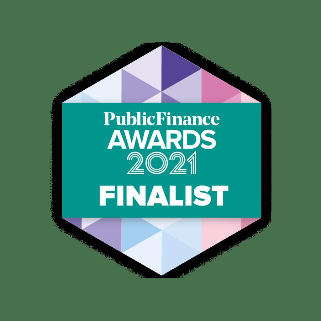 Public Finance awards 2021 finalist logo