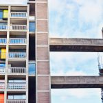 social housing to depict poverty in the UK