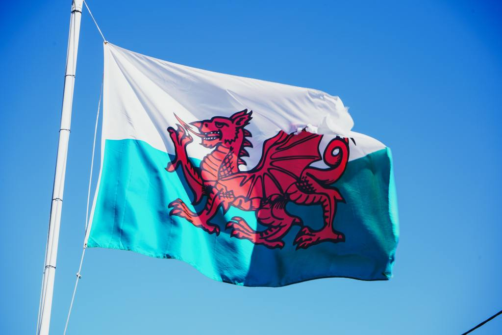 Image of Welsh flag to illustrate blog post about council tax reduction in Wales