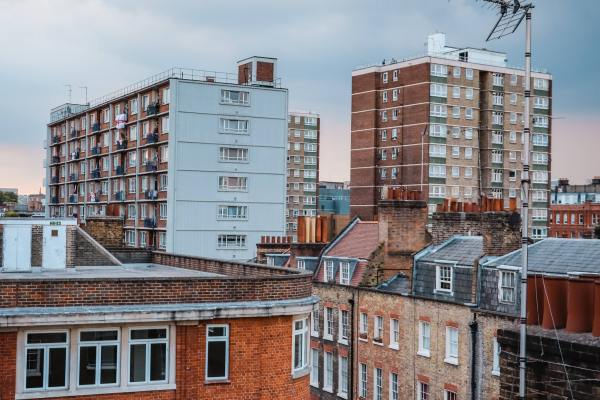 photo of tower blocks in London to illustrate a blog post about the collection of council tax in London
