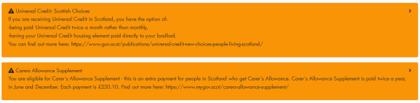 Policy in Practice's evidence on the role of Scottish Social Security in Covid-19 recovery recommends the use of a benefit calculator